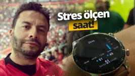 Stres ölçen Huawei Watch GT 2 ile milli maça gittik