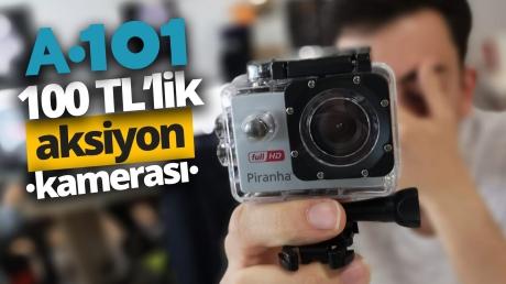 A101'den 99 liraya aksiyon kamerası alırsanız ne olur?