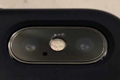 iPhone X kamera camı çatlıyor mu?