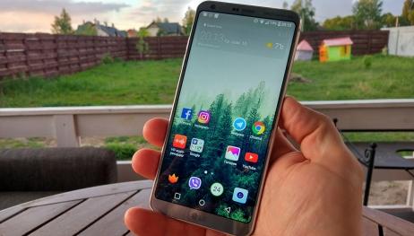 LG G6 için Android Oreo yayınlandı!