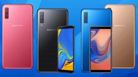 3 kameralı Galaxy A7 2018 resmen tanıtıldı!