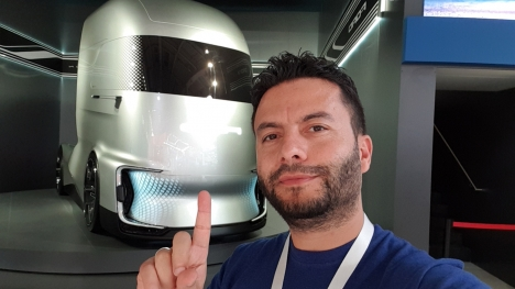 Türk tasarımı Ford F-Vision, Tesla Semi'ye rakip oldu!