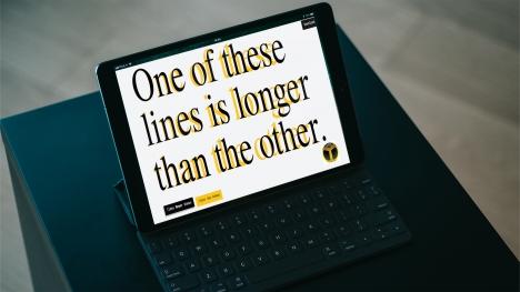 Yazılarınızı daha uzun gösteren font yayınlandı!