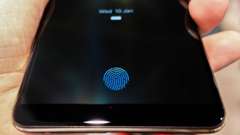Samsung tam ekran içi parmak izi patenti aldı!