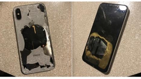 iPhone X iOS 12.1 güncellemesi ardından patladı!