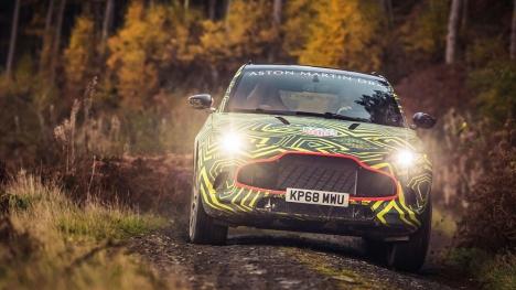 Aston MartinDBX modeli tanıtıldı!