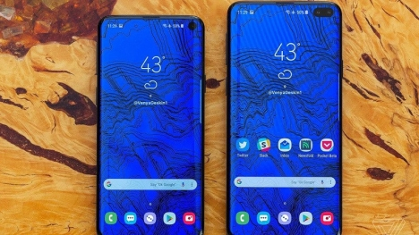 Samsung Galaxy S10 Plus kameralara yakalandı!