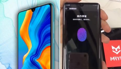 Huawei P30 Pro parmak izi okuyucu testi ortaya çıktı!