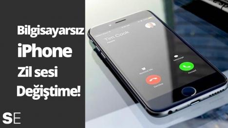 Bilgisayar kullanmadan iPhone zil sesi değiştirme!