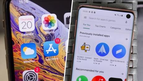 App Store, Google Play Store'a devasa fark attı!