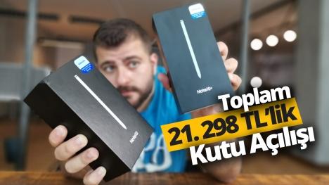 Galaxy Note 10 ve Note 10 Plus kutu açılışı!