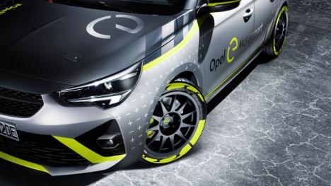 Opel Corsa-e ralli için hazırlanıyor