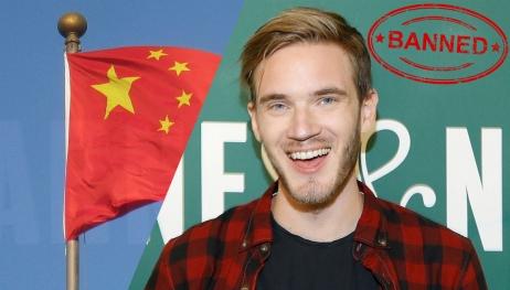 PewDiePie Çin'de yasaklandı!