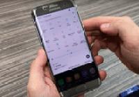 Galaxy S7 Edge Nougat ilk bakış!
