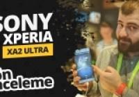 Sony Xperia XA2 Ultra ön inceleme!