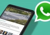 WhatsApp için önemli bir yenilik daha geldi!