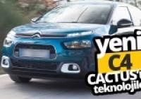 Yeni Citroen C4 Cactus testte!