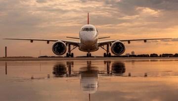 Quanto custa para alugar um jato Embraer E190-E2 novo?