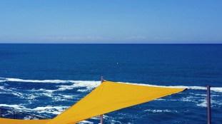 The Mediterranean sea from Calafuria