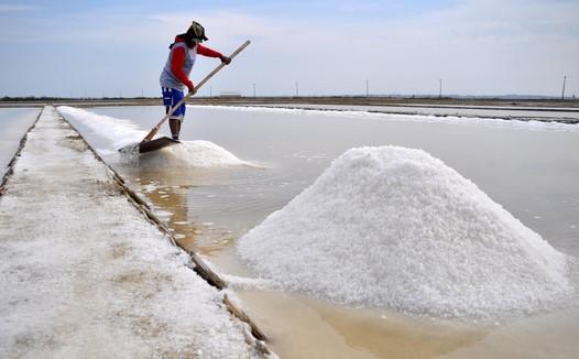 usaha garam di Indonesia