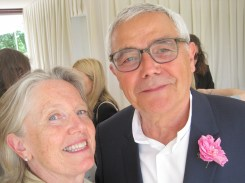 Me and Francois Demachy, nose-in-chief of Christian Dior parfums. What a gentleman he is, as well as a genius.