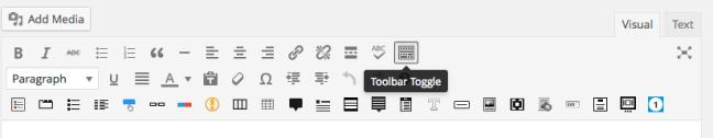 Tool Bar Toggle