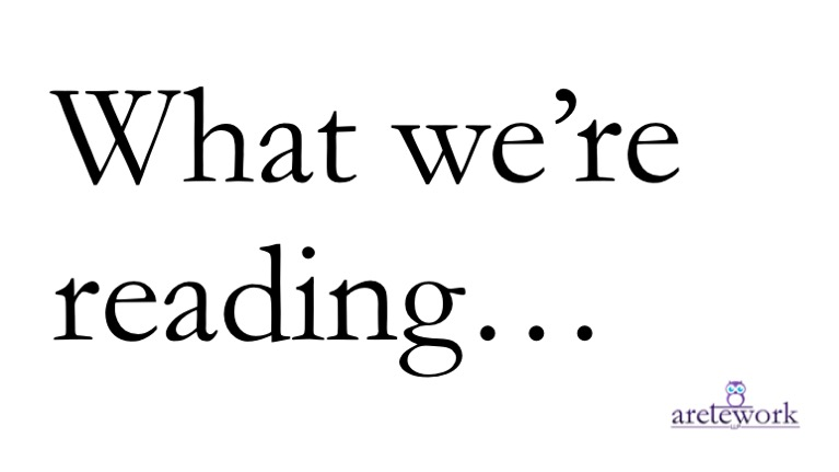 What we're reading header