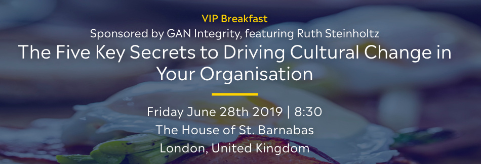 GAN Integrity VIP Breakfast