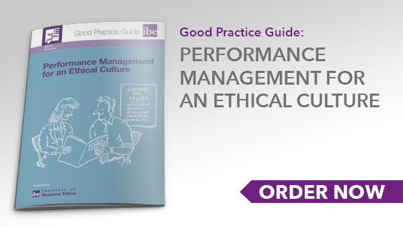 Good Practice Guide: Performance management for an ethical culture