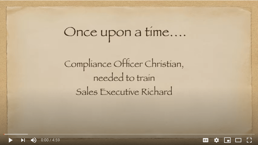 Planning #VirtualTraining? Then you'll want to watch the latest video in our #ComplianceMediaToolkit series. Watch how not to do it & learn how to do it as I (yet again) try to train @richardbistrong 1st episode Right pointing backhand index https://youtu.be/MSUteDGrOoc