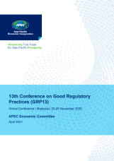 13th Conference on Good Regulatory Practices (GRP13)