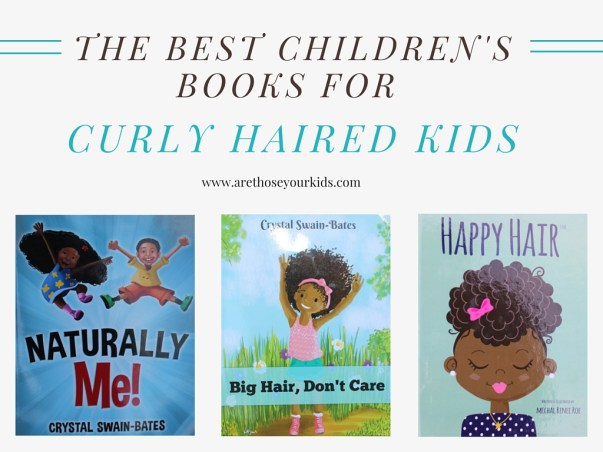 The Best Children's Books for Curly Haired Kids that Teach them Self Love