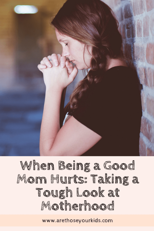 Motherhood can be beautiful & painful. There are times it hurts. Being tough and making the right decisions for your children isn't always easy.