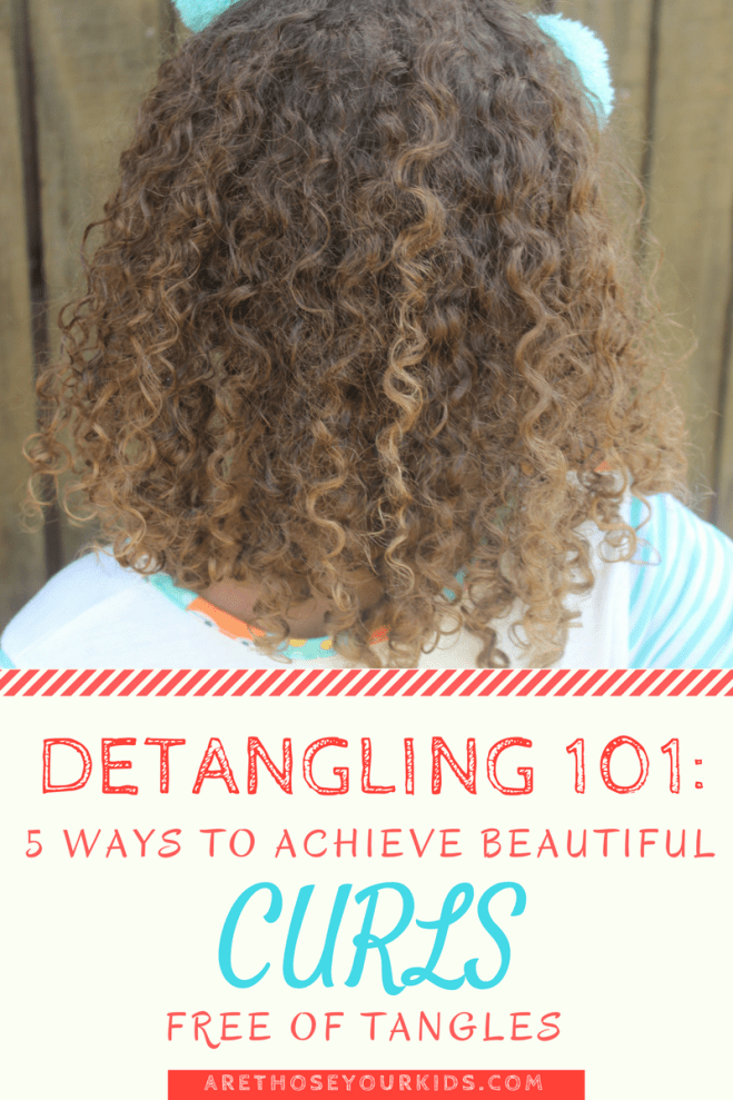 If you were blessed with a head of curly hair, detangling can be a major ordeal. Here are five guaranteed ways to get rid of the knots.