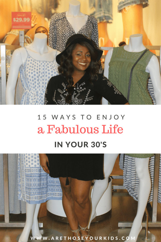 Transitioning from your 20's to your 30's can be exhilirating and exciting all at the same time. Here are a few life lessons that I've learned.
