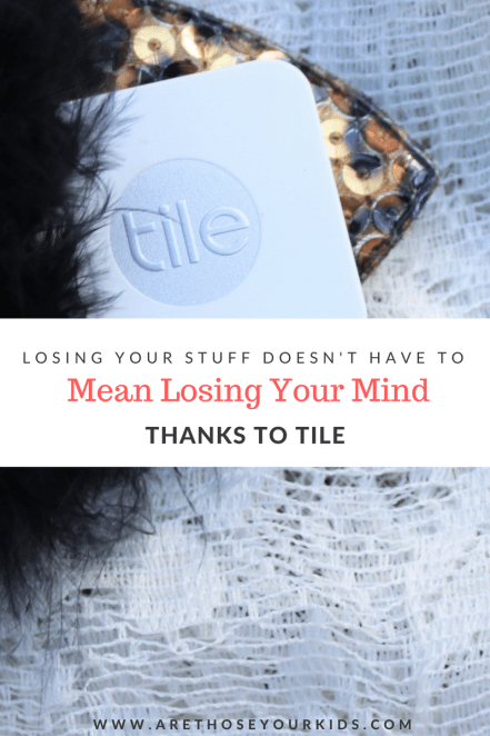 When your kids lose stuff in the home, it makes a calm day turn into chaos. Thanks to Tile, finding lost things suddenly becomes easier. #ad
