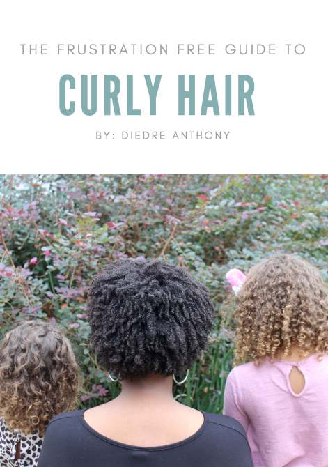 Are you at a loss when it comes to curly hair? Does wash day make you cringe? Check out this e-book for a guide to all things curly hair care.