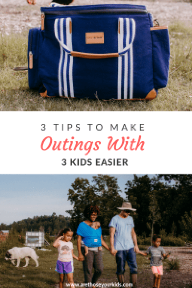 When people look at three child families, they are often met with judgement. Here are a few tips to make outings with 3 kids manageable & enjoyable.
