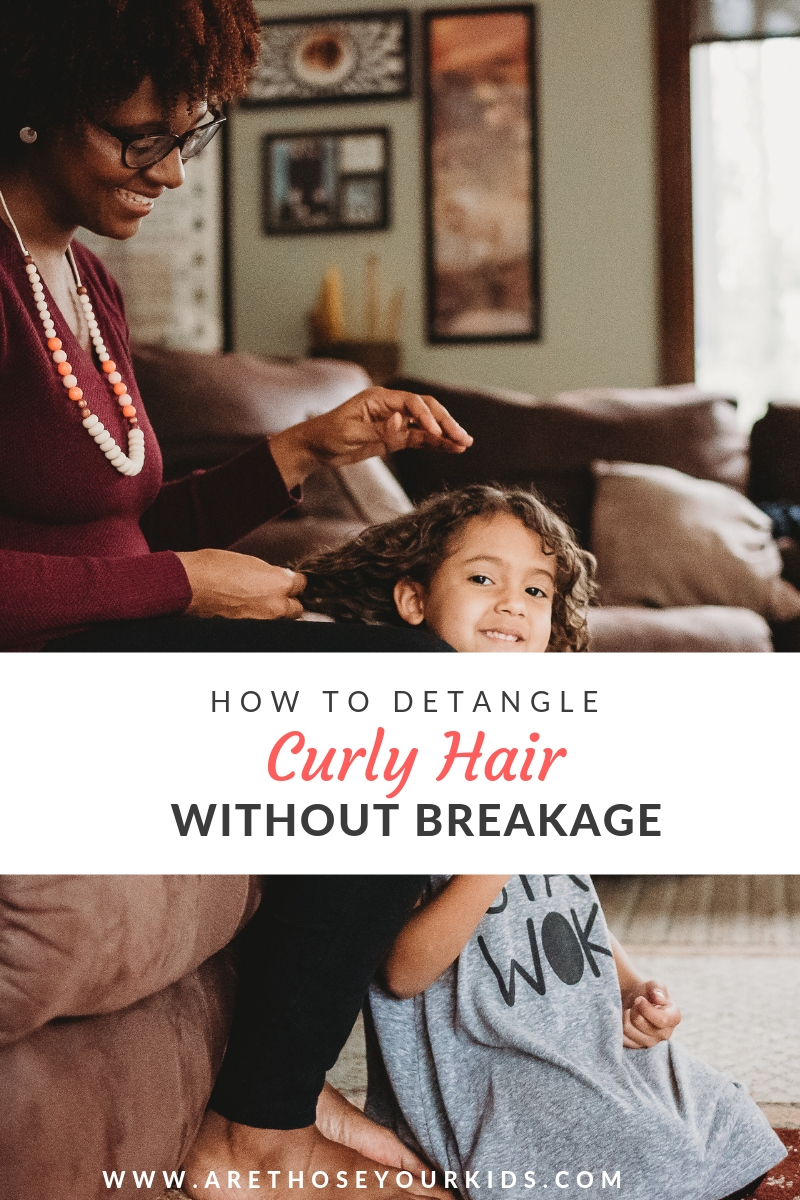 3 Quick & Easy Tips for Detangling Curly Hair Without Breakage