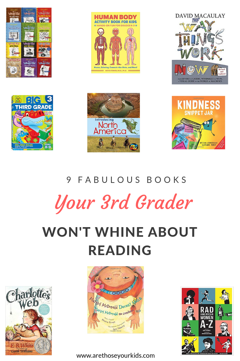 9 Fabulous Books Your Third Grader Won't Whine About Reading