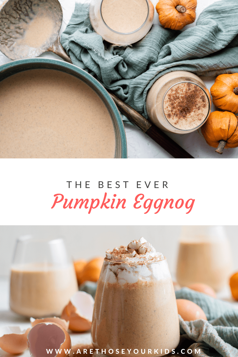 The Best Ever Pumpkin Eggnog