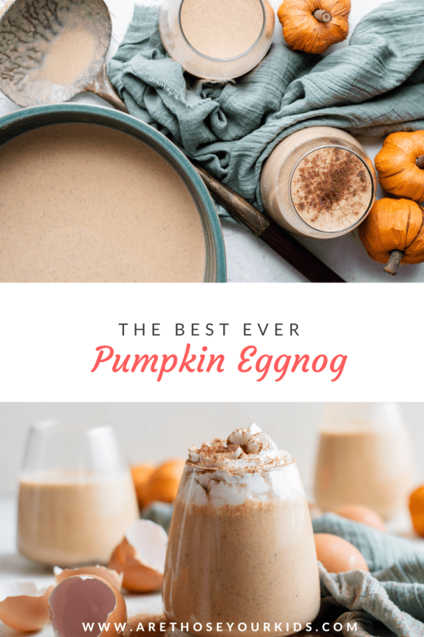 One of the best things about the holidays is enjoying your favorite food and drinks. Add pumpkin eggnog to your list of favorites to enjoy!