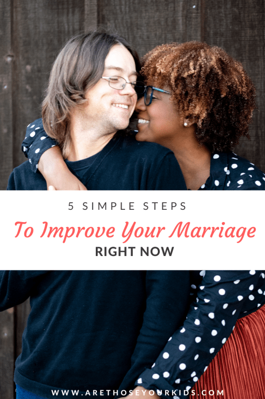No matter how long you've been married, there are always ways to improve your marriage. It takes hard work, but is so worth it.