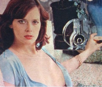 Sylvia Kristel and Cup