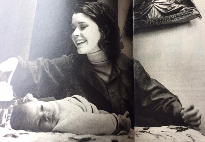 Sylvia Kristel and Son
