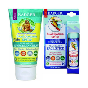 badger cruelty free sunscreen lotion stick