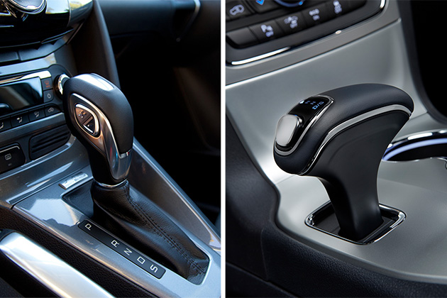 Really badly designed auto gear shifter.