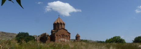 The Monastery Marmashen was one of the largest, most important medieval cultural centers of Armenia. The three churches were erected by prince Vahram Pahlavuni in 10th century.