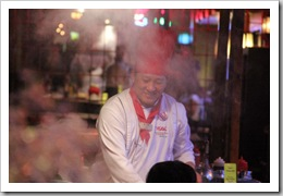 Chef at Kobe Steakhouse 2