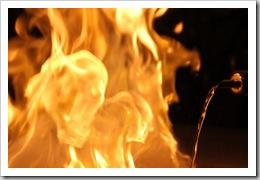 Fire at Kobe Steakhouse